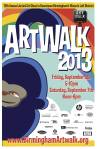 Artwalk poster-2013