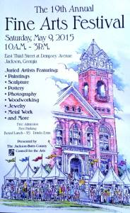 Flyer-Jackson Fine Arts Fest