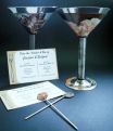 Martini & Cards & stirrers